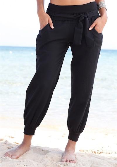 BUFFALO Strandhose in schwarz, Modelansicht