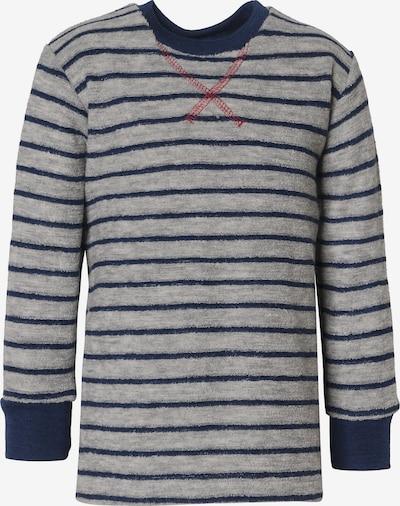 ENGEL Pullover in dunkelblau / graumeliert, Produktansicht