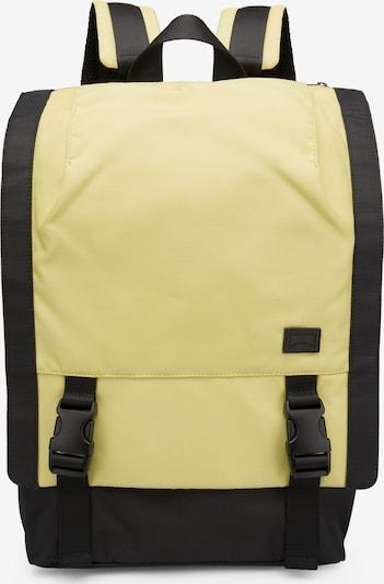 CAMPER Sac à dos en jaune pastel / noir, Vue avec produit
