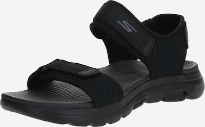 SKECHERS Sandali 'GO WALK' | črna barva, Prikaz izdelka