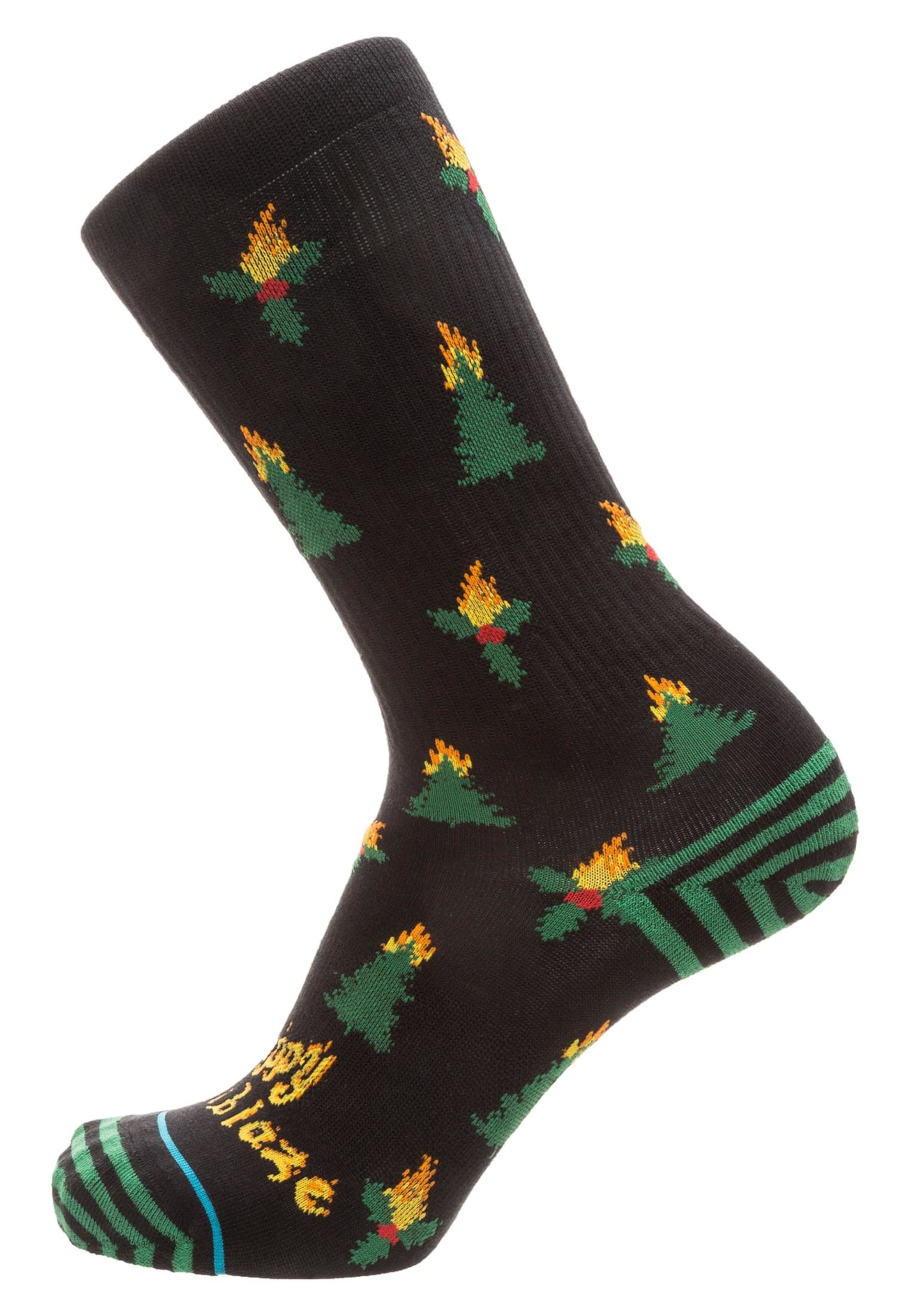 Holiblaze' Socken In 'foundation GrünSchwarz Stance dCthQrBsx