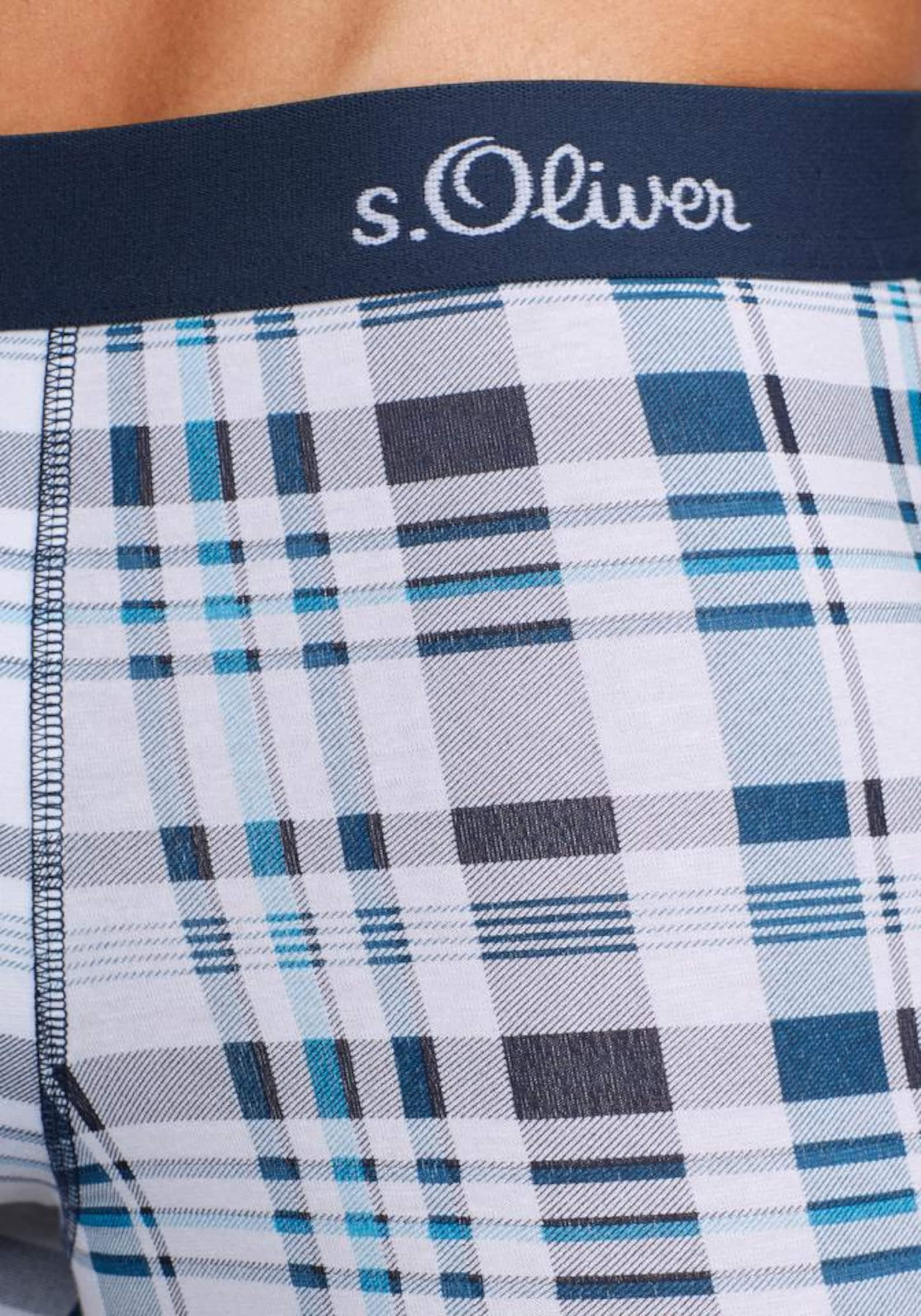 Auslass Klassisch Steckdose Breite Palette Von s.Oliver RED LABEL Bodywear Boxer (3 Stück) Steckdose Neu zRng8exMbq