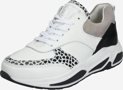 BULLBOXER Sneaker in taupe / schwarz / weiß, Produktansicht