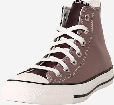 CONVERSE Sneaker 'Chuck Taylor All Star' in dunkelbraun / weiß: Frontalansicht
