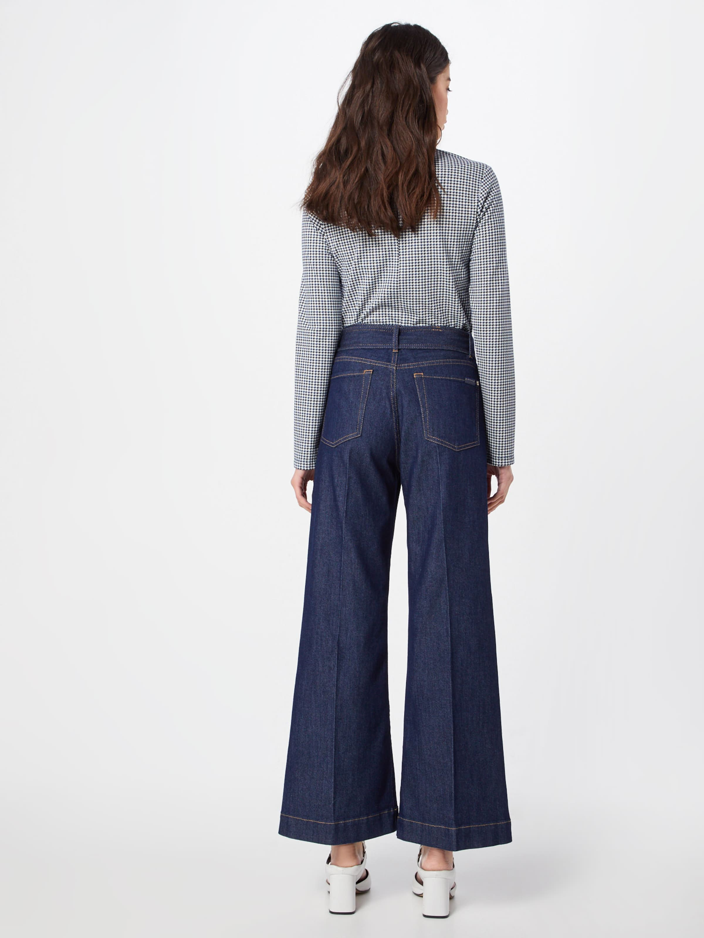 Cropped' 7 En All For 'lotta Bleu Mankind Jean 9WIH2DEY