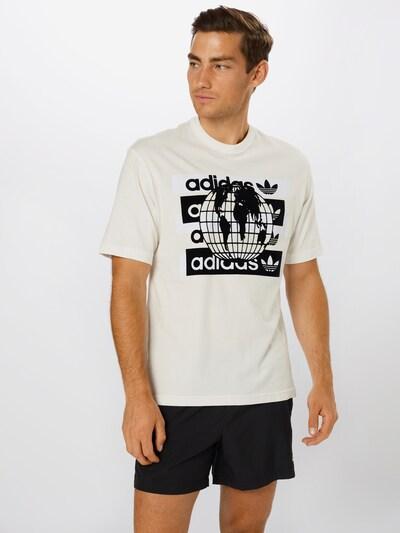 ADIDAS ORIGINALS Shirt 'F MSG LG TEE' in schwarz / weiß: Frontalansicht
