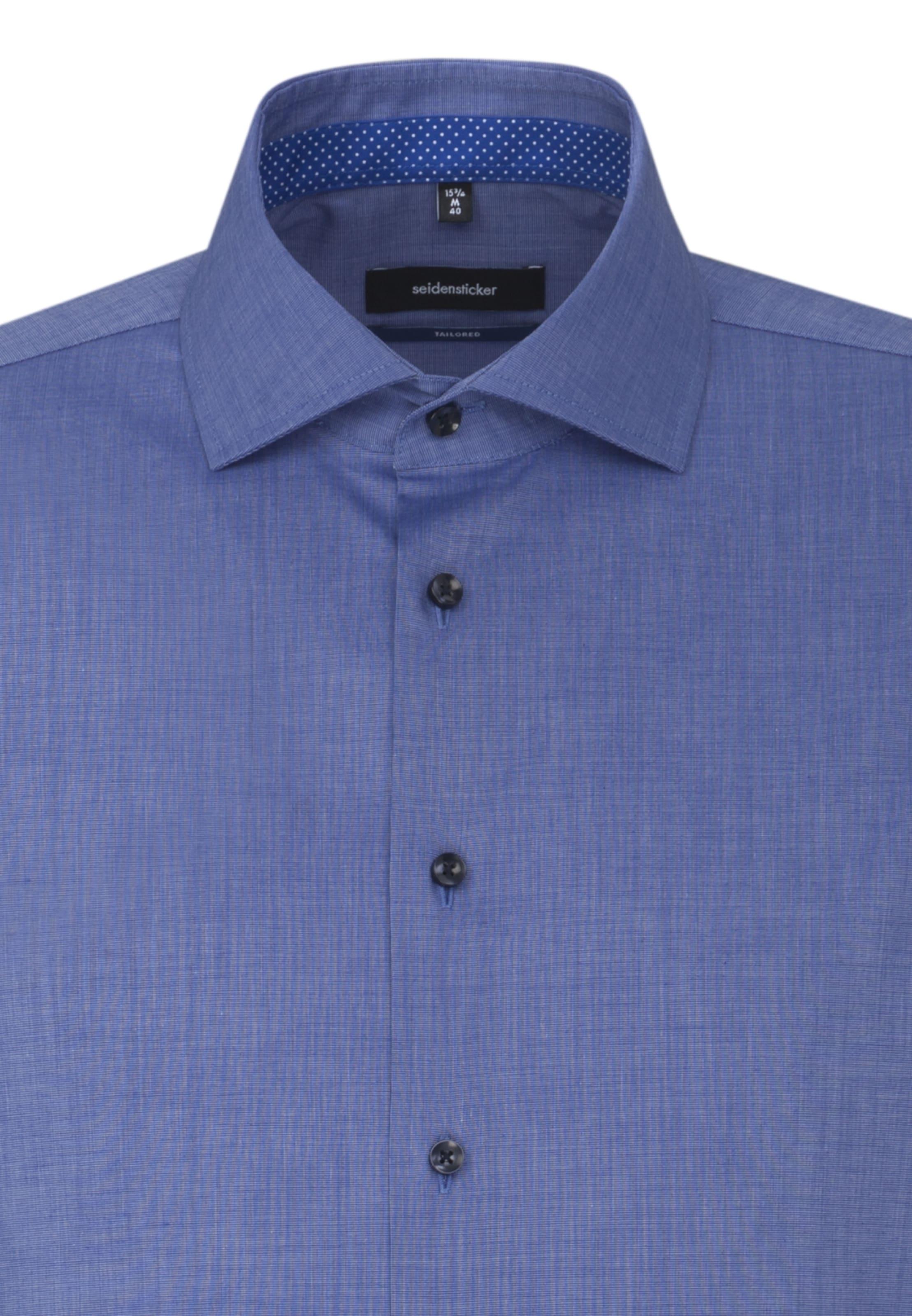 'tailored' Hemd In 'tailored' Seidensticker Blau Seidensticker Hemd Blau In rhdCxotQBs