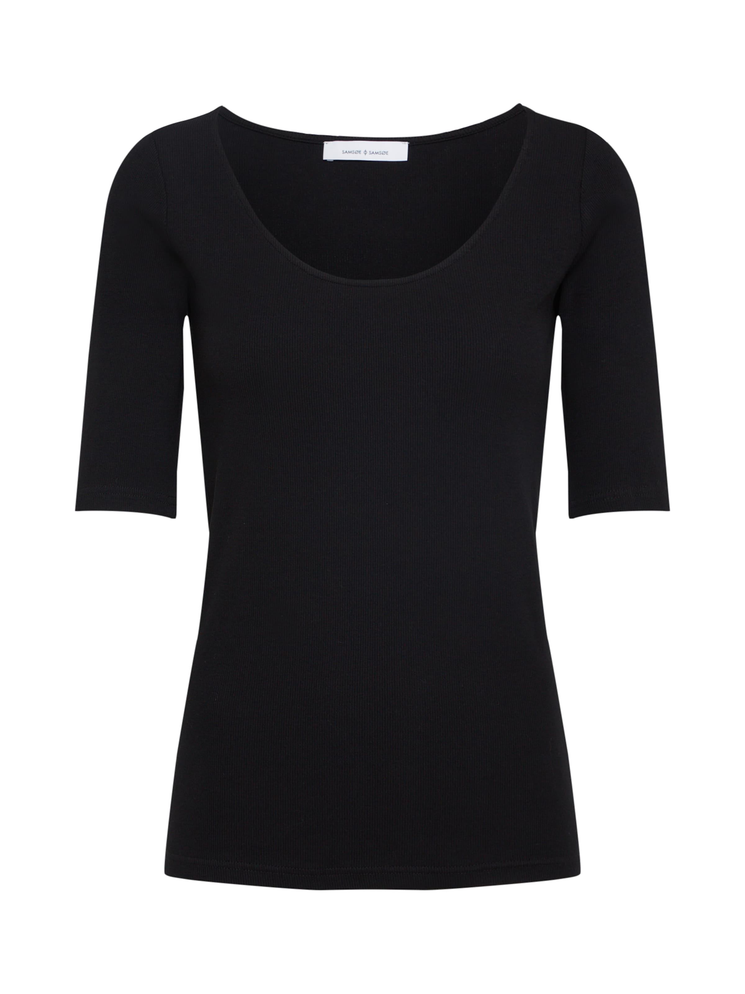 7542' shirt 'alexa T Tee Samsoe En Noir amp; wqC4x66nZ