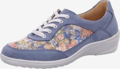 Ganter Schnürschuhe in blau / hellblau / mischfarben / weiß, Produktansicht