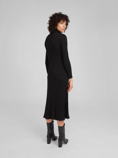 EDITED Kleid 'Syrina' in schwarz: Rückansicht