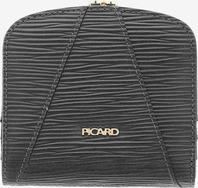 Picard Geldbörse 'Vanity 1' in schwarz, Produktansicht
