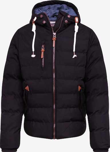 BRAVE SOUL Winter jacket 'MJK-CHANDL9A/WS' in brown / black, Item view