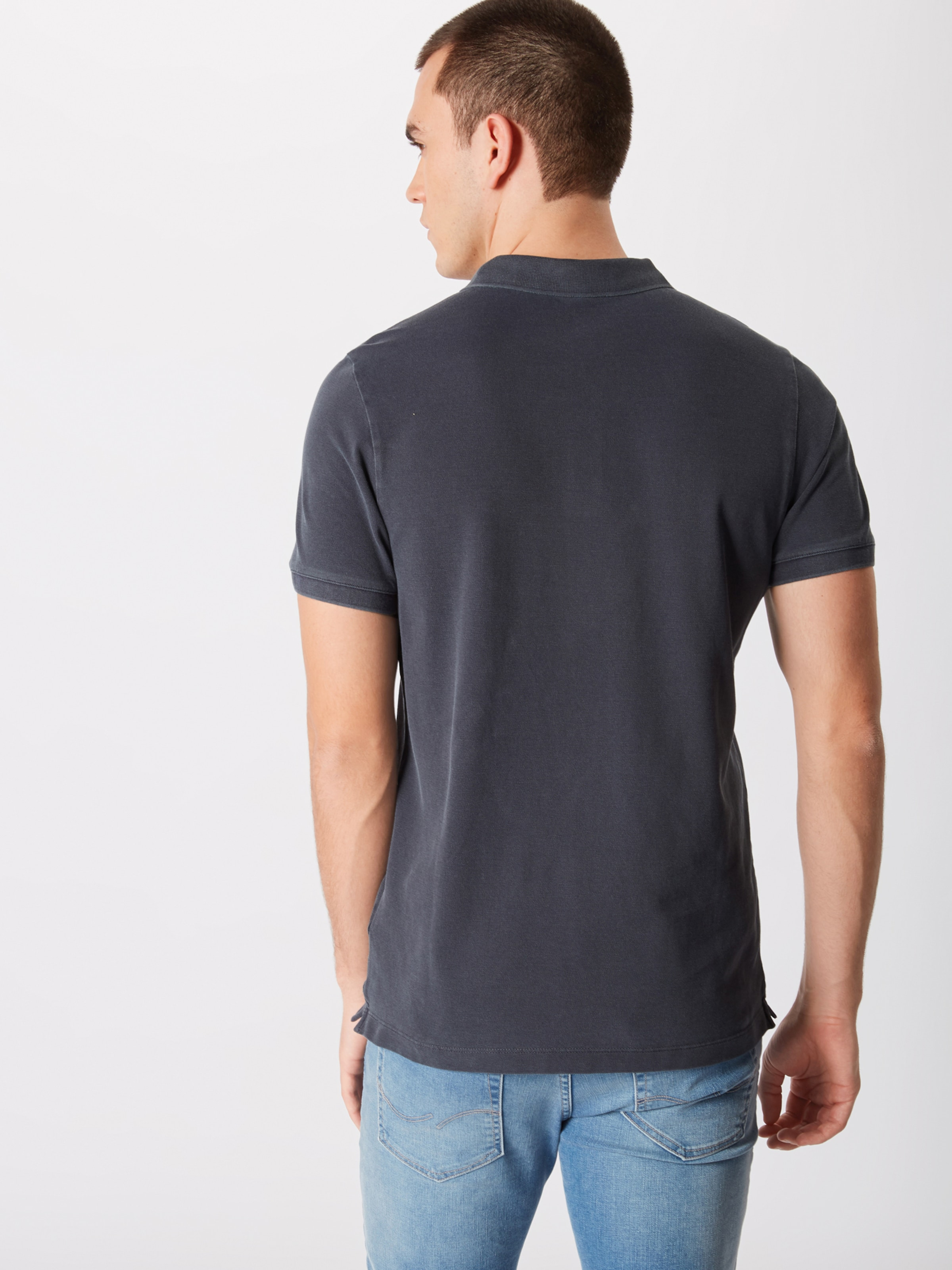 '11 ping' Strellson shirt J T En Bleu Foncé WH2ED9IYe