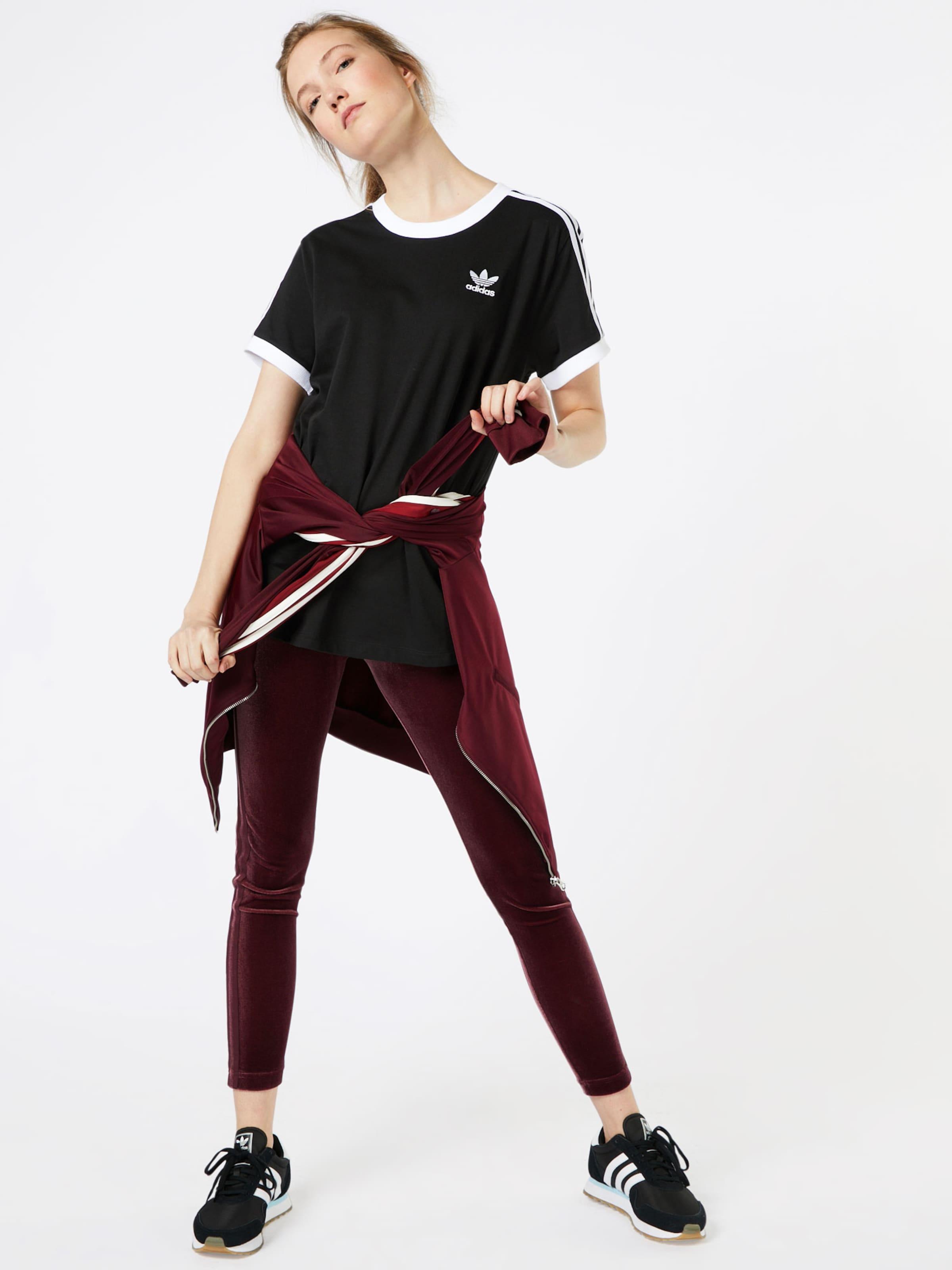 Stripes' Noir Originals T En Adidas shirt '3 LSzVMpGjqU