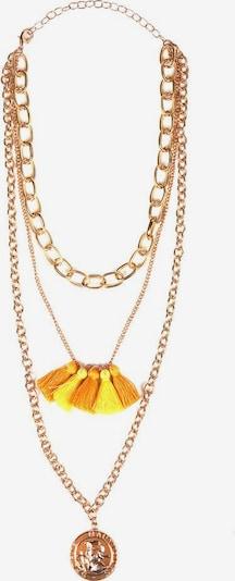 J. Jayz Kette in gelb / gold / orange, Produktansicht