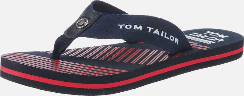 TOM TAILOR Zehentrenner in rosa | ABOUT YOU