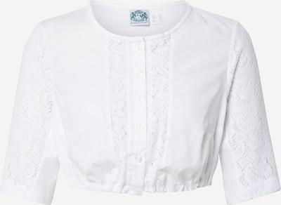 HAMMERSCHMID Bluse 'Anja' in weiß: Frontalansicht