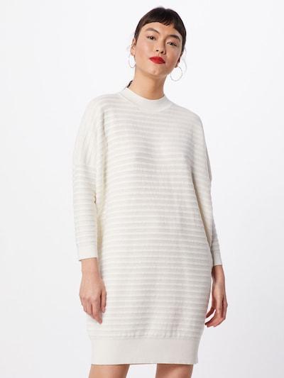 BOSS Sukienka z dzianiny 'Islene' w kolorze białym, Podgląd na modelu(-ce)