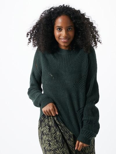 JACQUELINE de YONG Trui 'NEWDAISY' in de kleur Donkergroen, Modelweergave