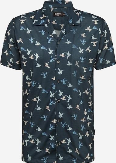 BURTON MENSWEAR LONDON Chemise 'NAVY BIRD REV SHIRT ' en bleu marine, Vue avec produit