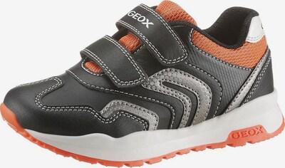 GEOX Kids Sneakers in orange / schwarz, Produktansicht