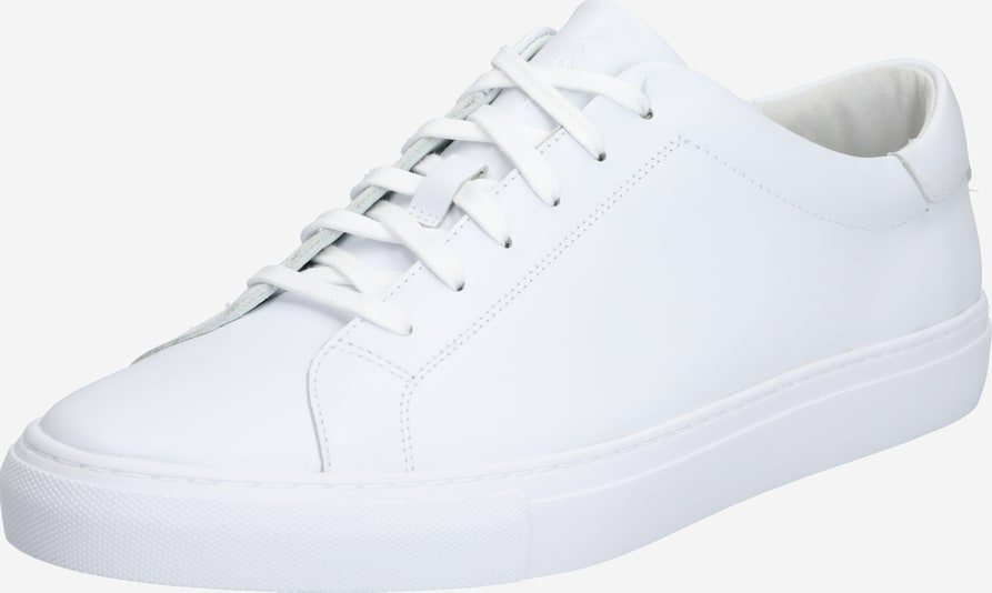 POLO RALPH LAUREN Baskets basses 'JERMAIN II-SNEAKERS-ATHLETIC SHOE' en blanc, Vue avec produit