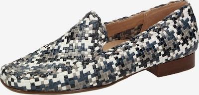 SIOUX Slipper 'Cordera' in taubenblau / grau / weiß, Produktansicht
