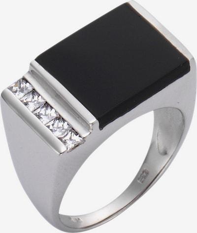FIRETTI Ring in schwarz / silber, Produktansicht