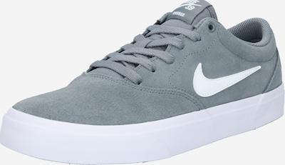 Nike SB Baskets basses en gris chiné / blanc, Vue avec produit