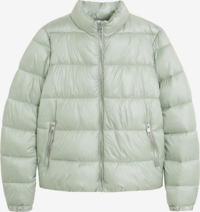 MANGO Veste d'hiver 'lomi' en vert fluo, Vue avec produit