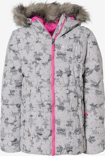 COLUMBIA Winterjacke 'Groslope' in grau / schwarz, Produktansicht