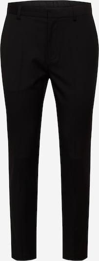 BURTON MENSWEAR LONDON Pantalon à plis en noir, Vue avec produit