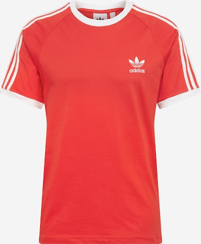 ADIDAS ORIGINALS Shirt '3-Stripes' in rot / weiß, Produktansicht