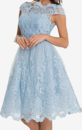 Chi Chi London Kleid mit schwingendem Rock 'RHIANNON DRESS' in hellblau, Produktansicht