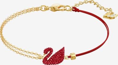 Swarovski Bracelet 'Iconic Swan' in Gold / Red, Item view