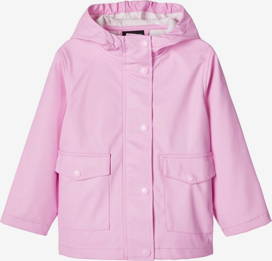 NAME IT Regenjacke in rosa, Produktansicht