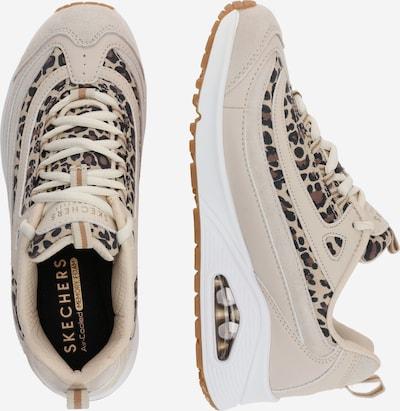 SKECHERS Sneaker 'UNO WILD STREETS' in beige mischfarben UE57T