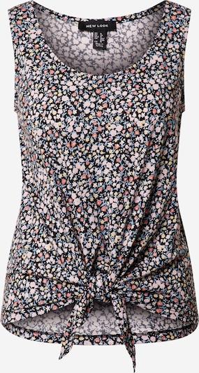 NEW LOOK Top 'IDRIS DITSY' w kolorze mieszane kolory / czarnym, Podgląd produktu