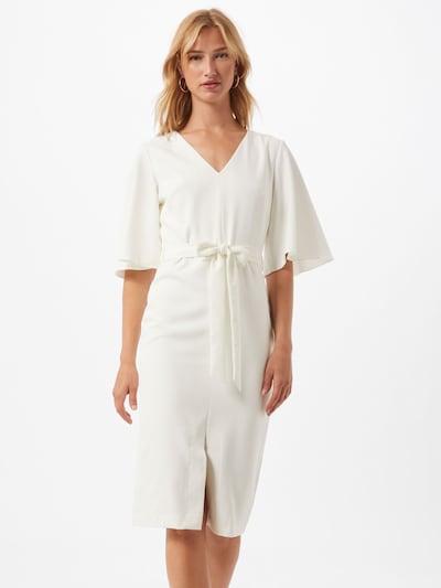 Trendyol Šaty - biela: Pohľad spredu