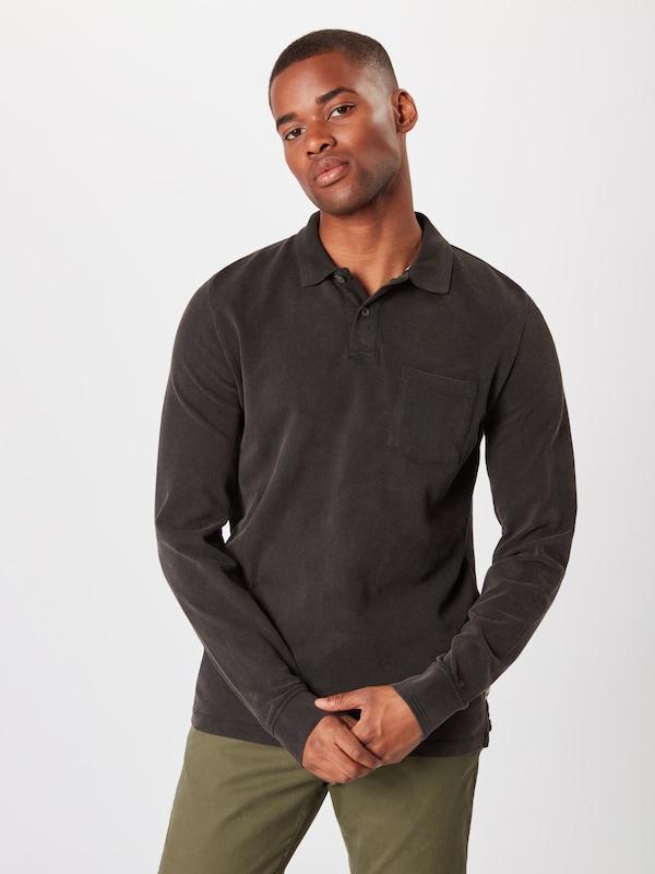 Label shirt Red oliver En T S Noir PikZOuX