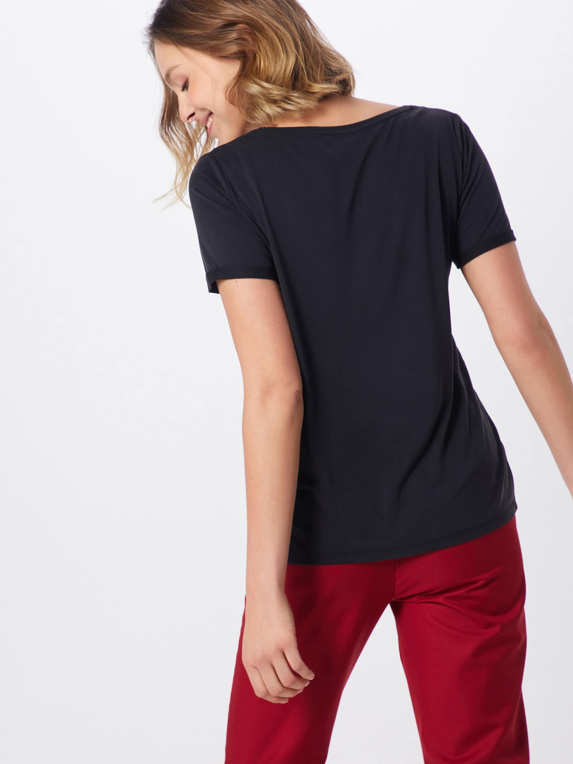 shirt Pb' 'pchavala Tee T V Noir En neck Ss Pieces D2d EI2WHD9