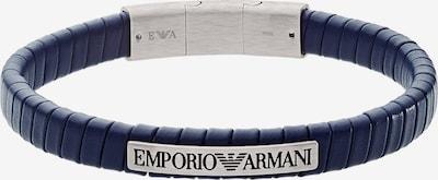 Emporio Armani Herrenarmband in dunkelblau, Produktansicht