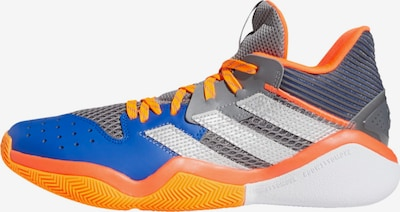 ADIDAS PERFORMANCE Basketballschuh in blau / grau / orange / weiß, Produktansicht