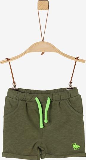 s.Oliver Shorts in grün, Produktansicht