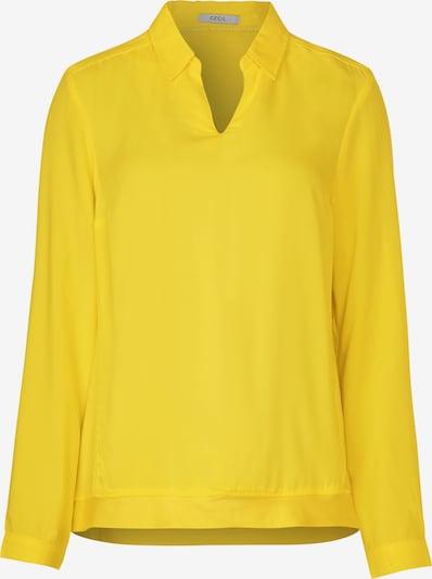 CECIL Bluse in gelb: Frontalansicht