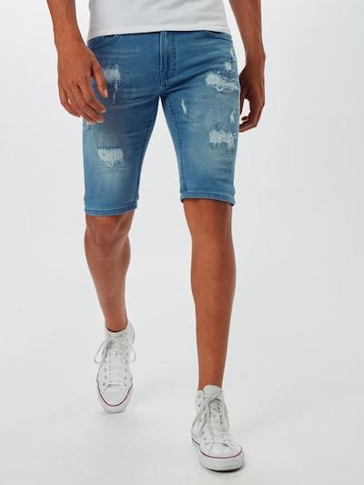 Džinsai 'Commercial' iš INDICODE JEANS , spalva - tamsiai (džinso) mėlyna, Modelio vaizdas