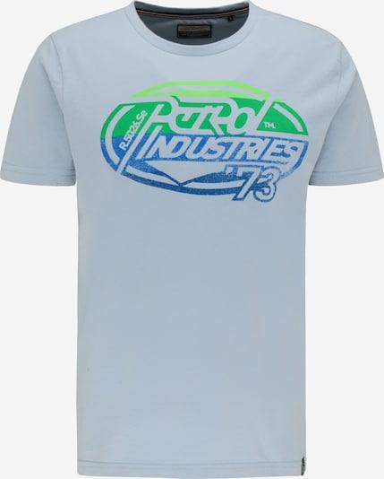 Petrol Industries Shirt in Blauw / Donkerblauw / Grijs / Groen / Lichtgroen O0BUcixS
