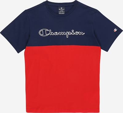 Champion Authentic Athletic Apparel Shirt in blau / rot, Produktansicht