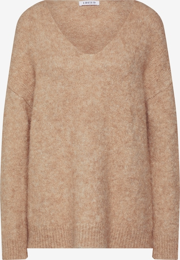 EDITED Pullover 'Fawini' in camel, Produktansicht