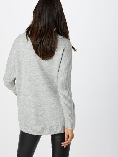 ABOUT YOU Pullover 'Franka' in grau: Rückansicht